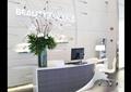 服务台,前台,形象墙,花瓶,椅子,电脑,台灯