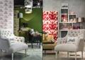 家居店,沙发椅,单椅沙发,吊灯,陈列柜