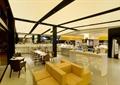 商店设计,休息区,休闲沙发,桌椅组合,展示台