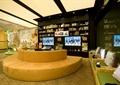 商店设计,商店组合,沙发坐凳,沙发椅,书柜,展示柜