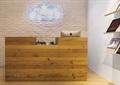 收银台,木制收银台,形象墙