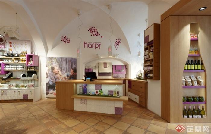 意大利鲁内克Harpf市政店室内设计-饮料店储物道路饮料v市政设计图cad规范图片