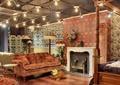 商店设计,沙发组合,装饰柜,墙面装饰,落地灯