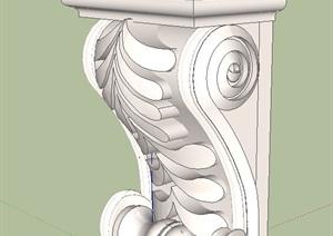 26款欧式柱子设计SU(草图大师)模型