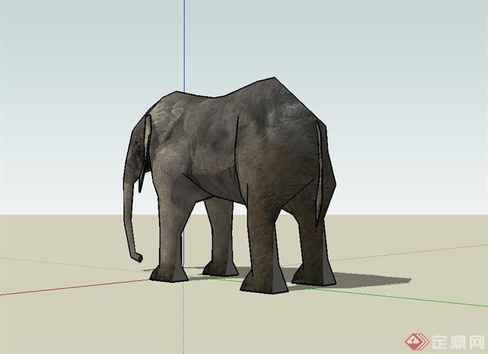 大象设计su模型(3)