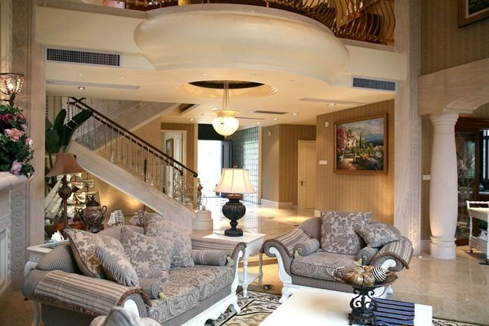 美式古典别墅室内设计施工图附实景照片[原创]