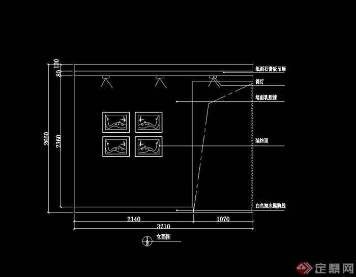 两居米粉色室内设计cad施工图附效果图[原创]