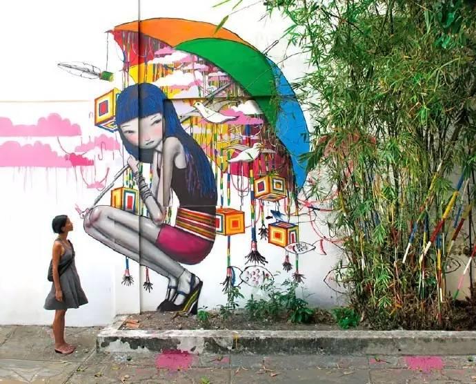 现代创意墙绘素材合集