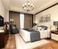 卧室,卧室装饰,吊灯,电视柜,床,床头柜