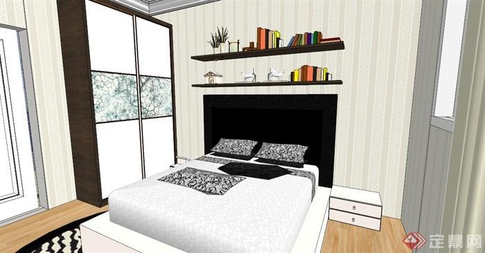 某欧式别墅室内设计SU模型,该设计风格为欧式设计风格,别墅有两层,包括客厅,卧室若干间,影音室,麻将房,书房,厨房,餐厅等,模型制作美观详细,细节部分制作精致,有材质贴图,具有一定参考使用价值,欢迎下载使用。