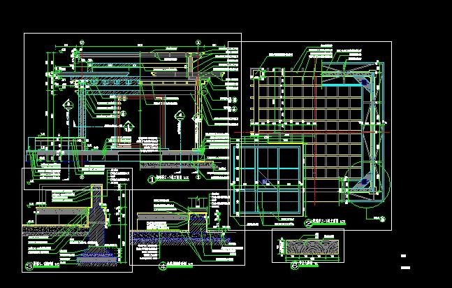 某住宅小区绿化规划设计及施工CAD图