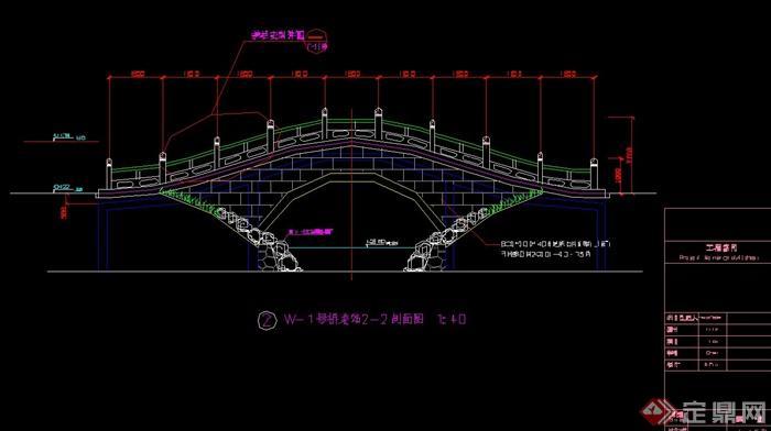 某公园拱桥v公园cad施工图[原创]opensource3DCAD图片