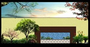 保利叶语花园景观