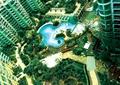 小区中央景观,宅间景观,露天泳池,高层住宅