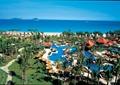 濱海休閑度假區,休閑度假區,泳池,涼亭,園路,草坪