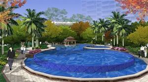 广西梧州灏景玥城一期景观设计方案