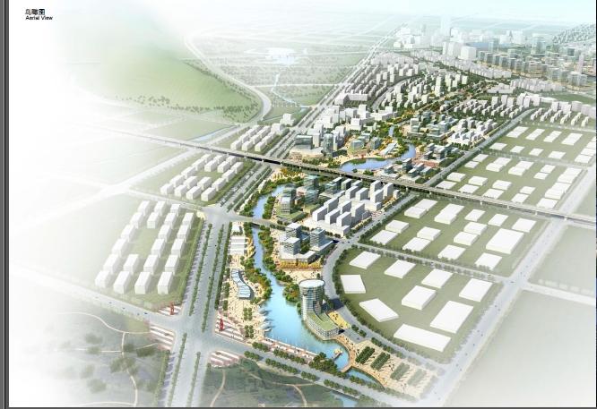 无锡新城某河岸两侧景观规划设计[原创]