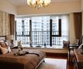 卧室,卧室装饰,床,梳妆柜,飘窗