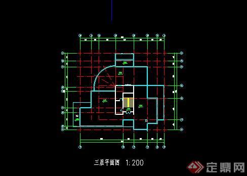农村别墅自建房CAD施工图