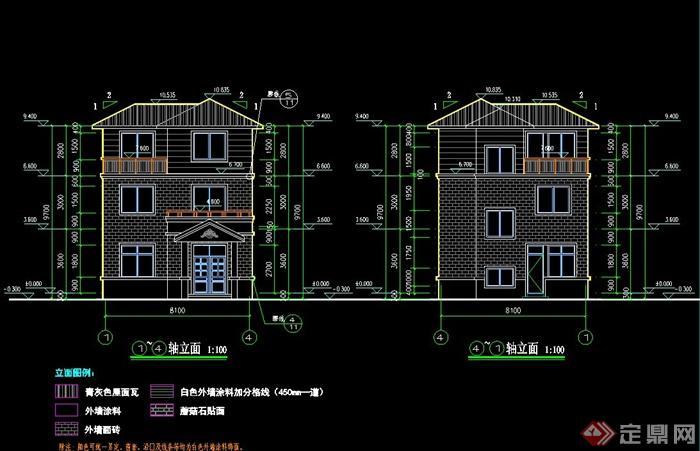 现代风格农村别墅自建房建筑效果图+CAD施工图,施工图绘制详细,包含了水电图、施工图绘制,有需要请自行下载使用。