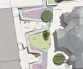 办公楼中庭,中庭景观,办公环境