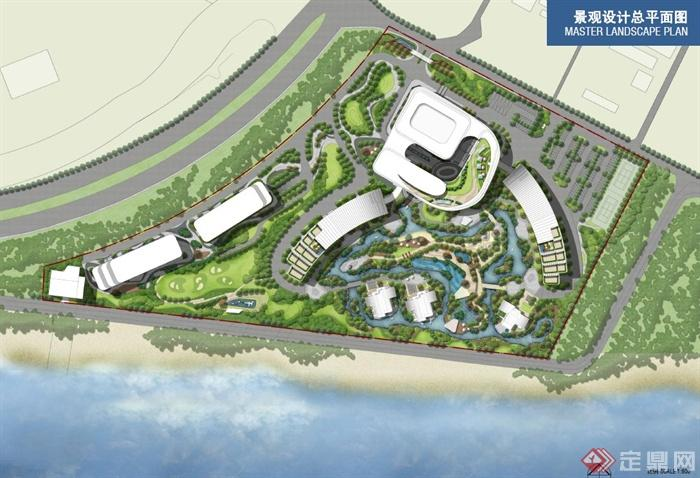 某地佰翔海景酒店景觀方案概念設計方案高清pdf文本