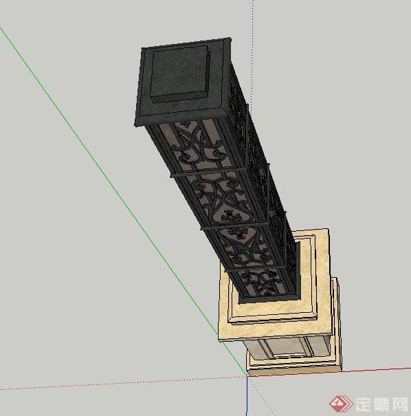 中式+欧式景观灯与路灯组件集SU精品设计模型