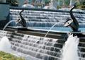 跌水景观,跌水水池,喷水雕塑,跌水池