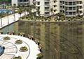 景观水池,雕塑喷泉,喷泉水景,小区中央景观