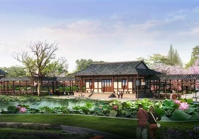 古典中式瑶族风情村落建筑设计3DMAX模型