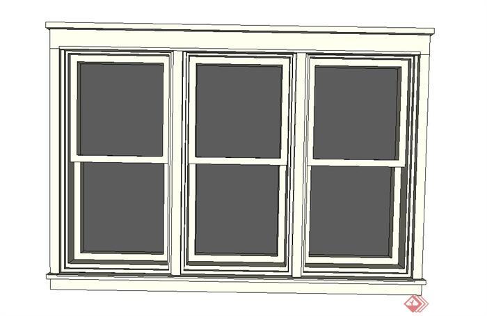建筑节点窗子设计su模型[原创]