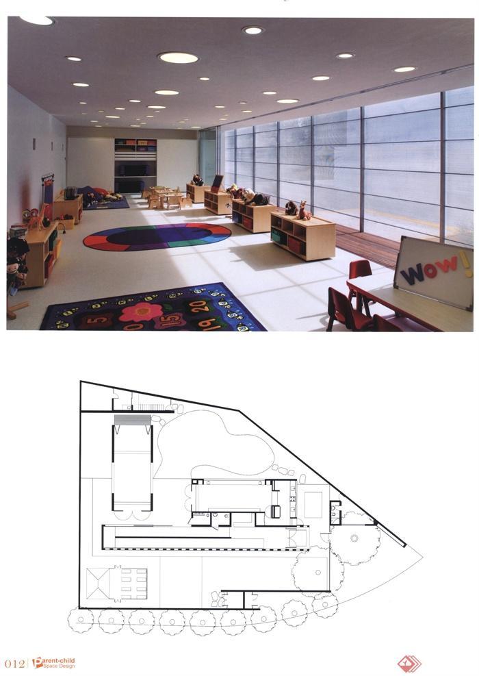 幼儿园,托儿所,教室,落地窗