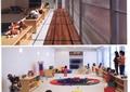 幼儿园,托儿所,亲子园,教室,木地板,陈列柜