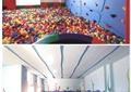亲子空间,室内泳池,攀岩墙,游乐室