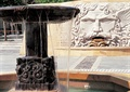景墙设计,浮雕景墙,喷水景观