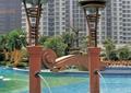 喷水雕塑,雕塑小品,雕塑设计,泳池水池
