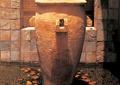 水池景观,雕塑小品,陶罐花钵