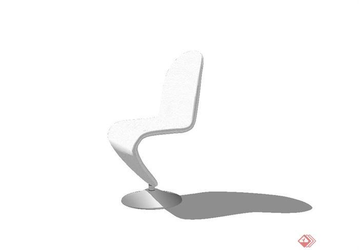 某现代简约风格椅子设计su模型