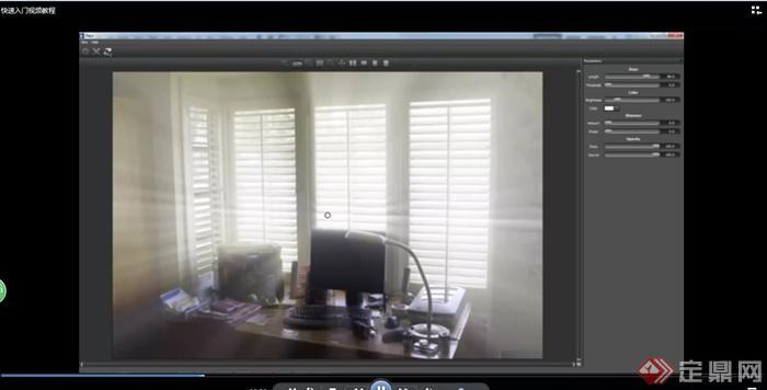 ps 滤镜 模拟真实光芒制作的插件DFTRays(2)