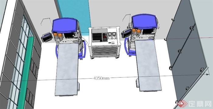 某医院手术室室内设计su模型(4)