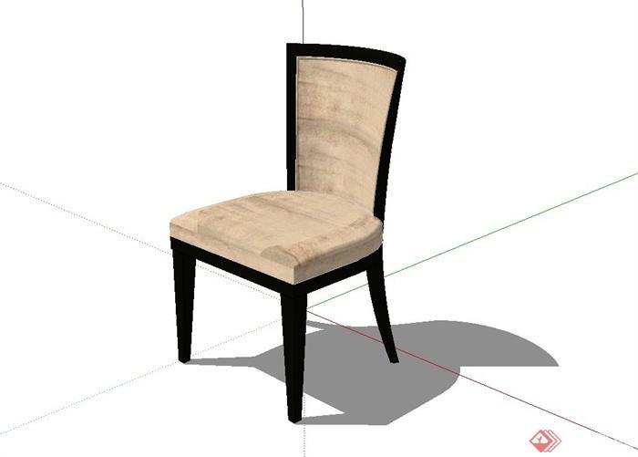 某现代室内装饰椅子设计su模型