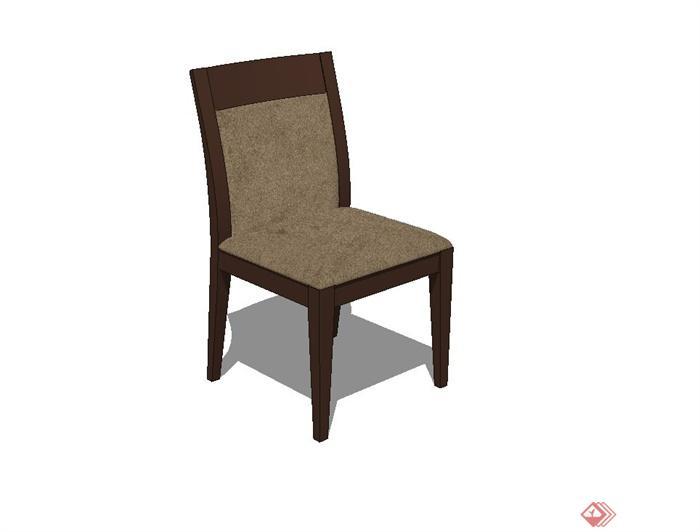 某室内空间椅子设计su模型
