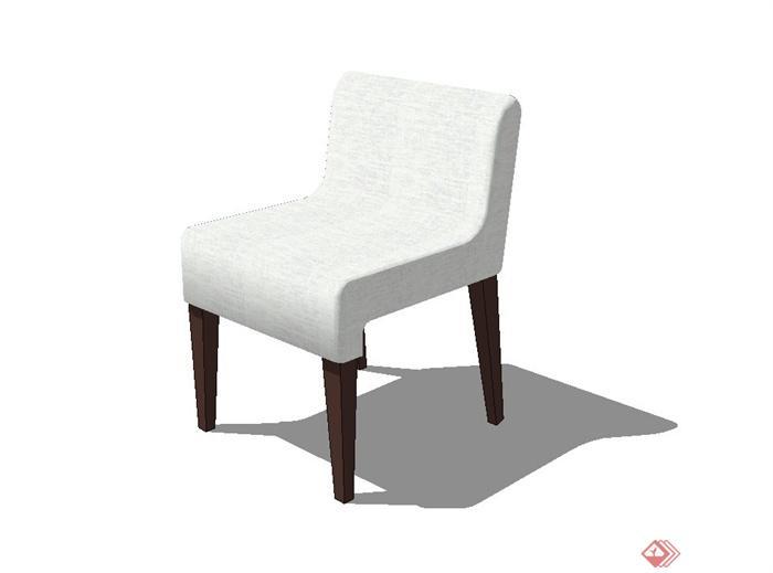 椅子设计su模型