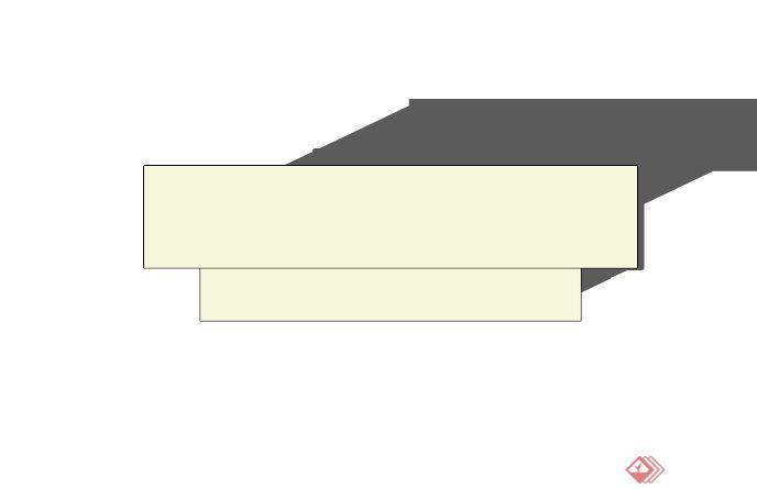 现代室内家用储物柜设计su模型