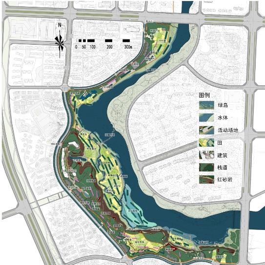 某滨水公园景观设计方案高清pdf文本[原创]