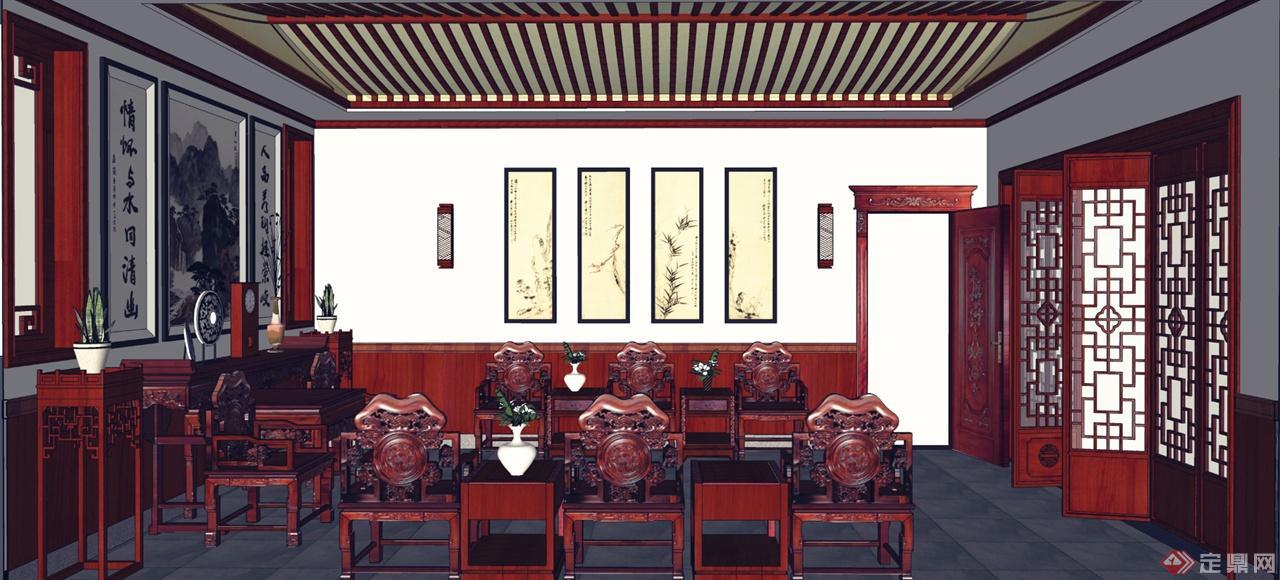 中式堂屋设计图片