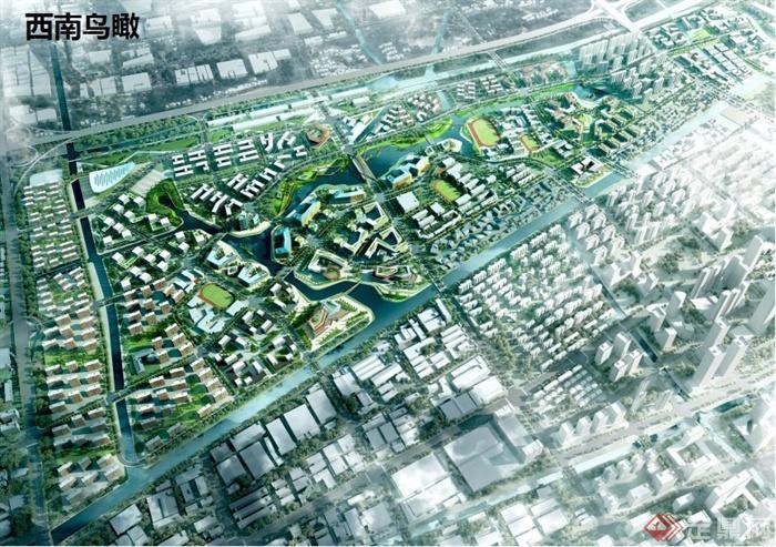 某城市梦想小镇概念性总体规划设计方案高清pdf文本(7)