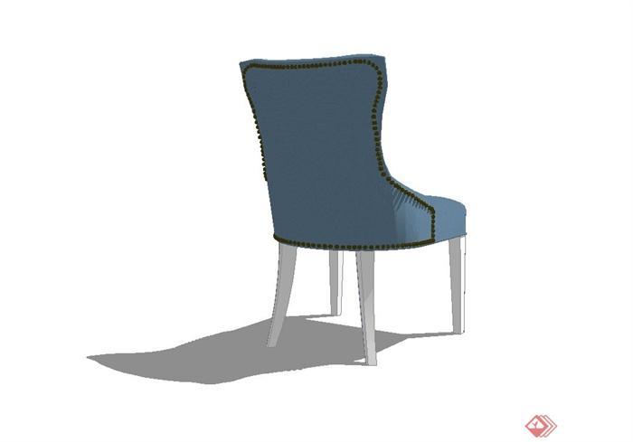 某欧式室内沙发椅子设计su模型