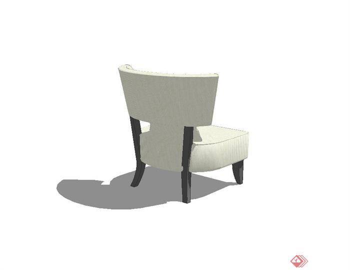 某现代简约风格沙发椅子设计su模型