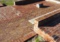 砖块铺装,矮墙